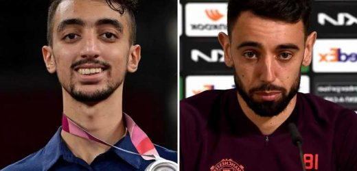 Tunisia Olympic star Khalil Jendoubi gives brilliant reply when asked about looking like Man Utd ace Bruno Fernandes