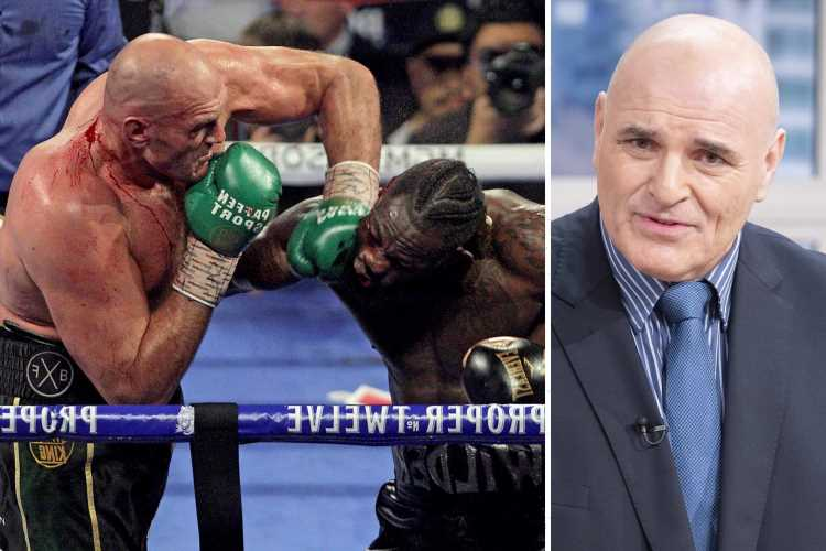 Tyson Fury's dad John fears trilogy fight will cost Deontay Wilder his 'LIFE, career or he'll be an invalid'
