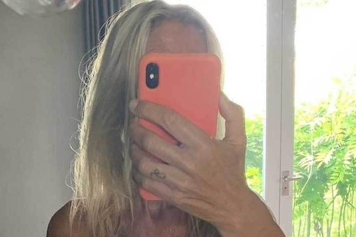 Ulrika Jonsson, 53, flaunts her body in a yellow bikini after backlash for posing naked