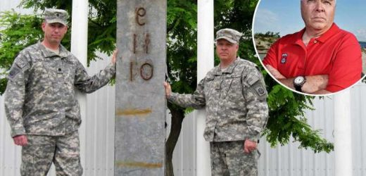 Veterans fear WTC beam left behind in Afghanistan could fall into Taliban's hands