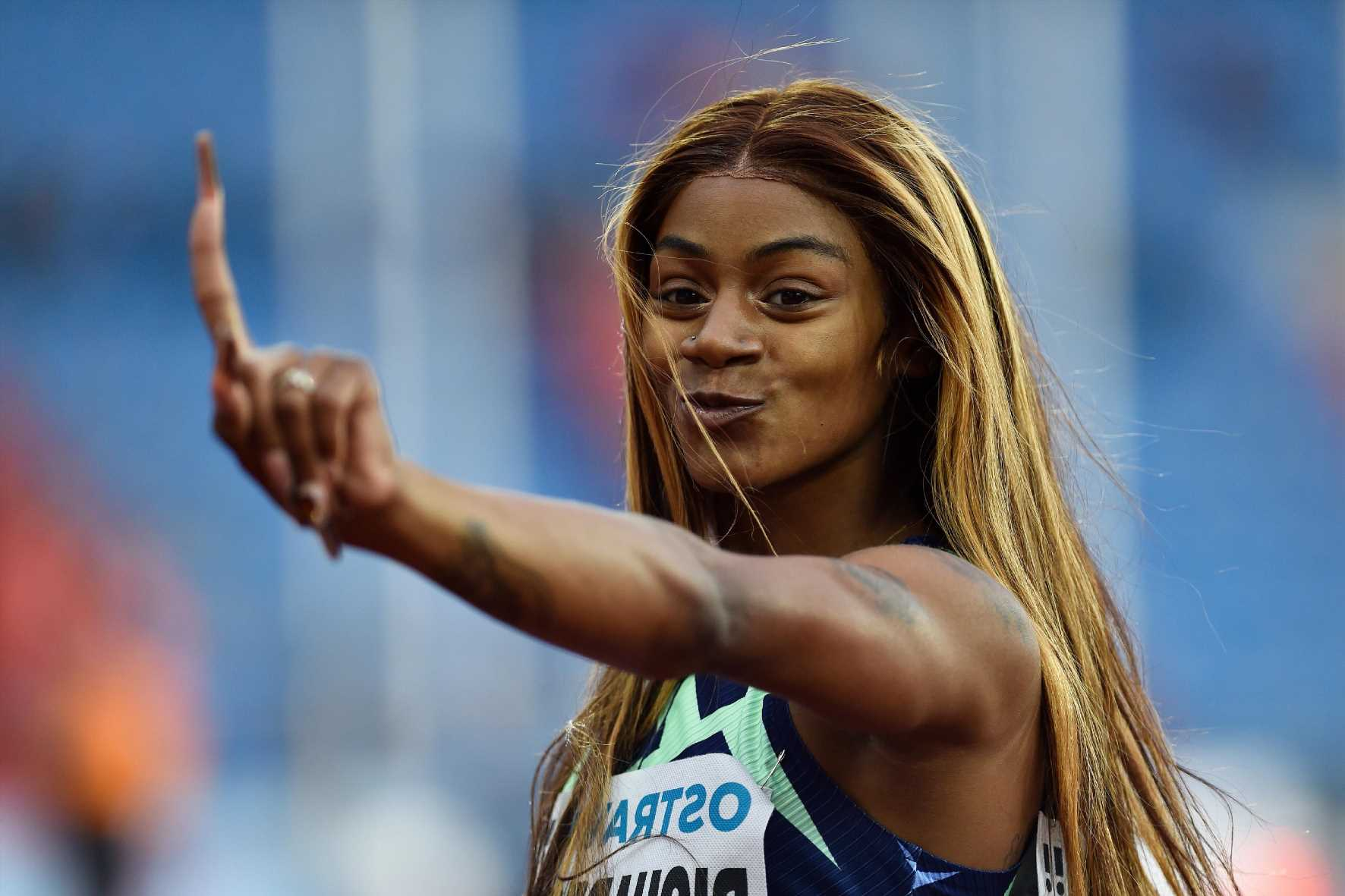 Who is USA sprinter Sha'Carri Richardson and what substance did she test positive for?