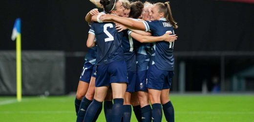 Why is there no Team GB men's football team when a women's team are playing at Tokyo 2020 Olympics?