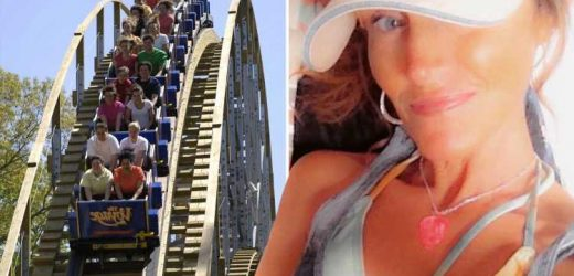 Woman, 47, who died on roller coaster tore an artery and suffered internal bleeding from 'force of the ride'