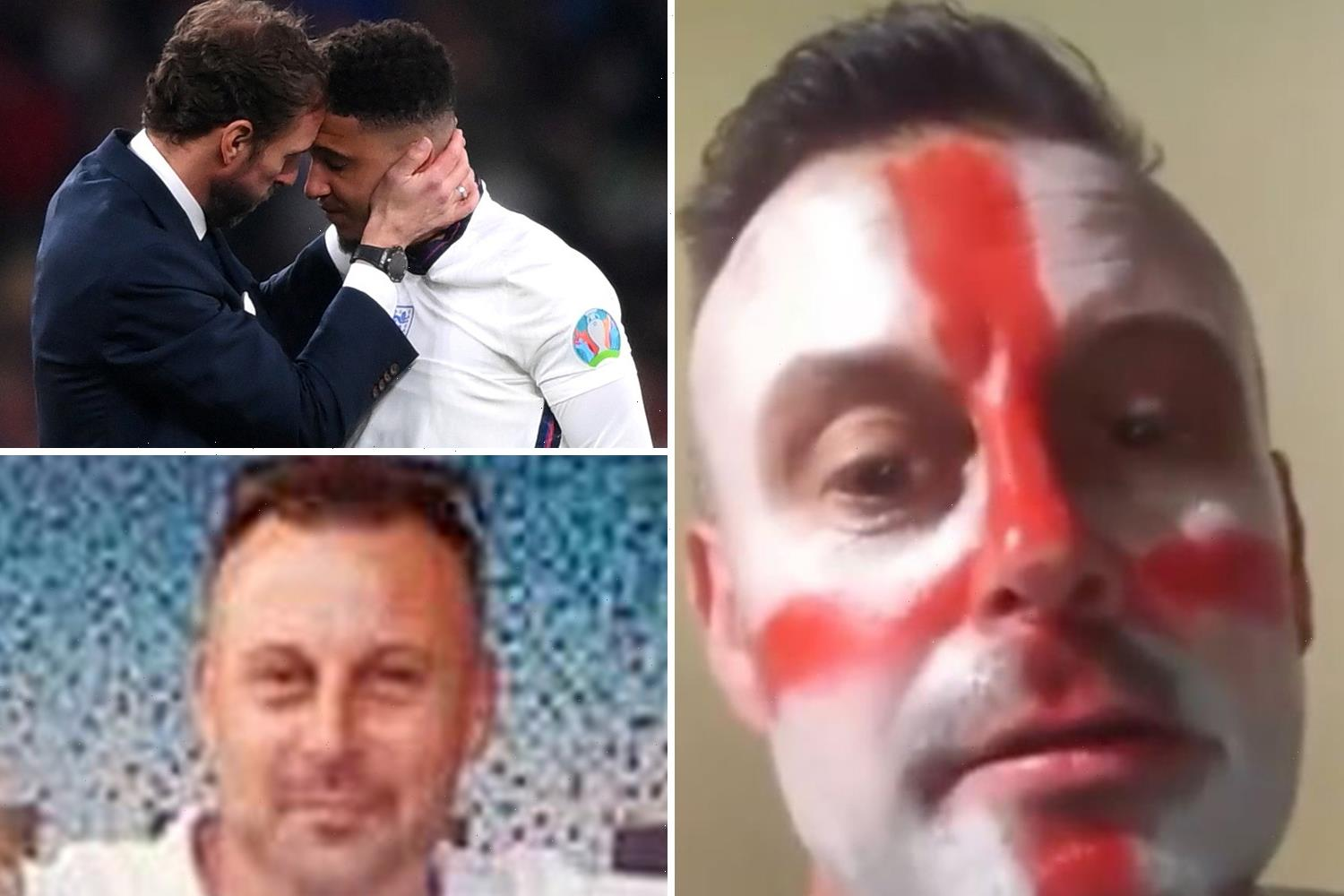 Yob who filmed himself racially abusing Three Lions 'has never been to an England game in his life'