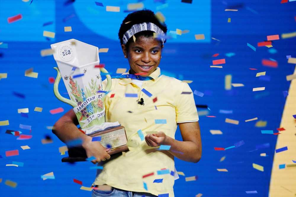 Zaila Avant-garde erupts in joy after Scripps National Spelling Bee win