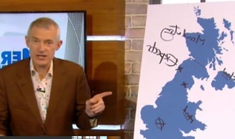 'You don't know what you're doing!' Jeremy Vine illustrates confusing mask rules across UK