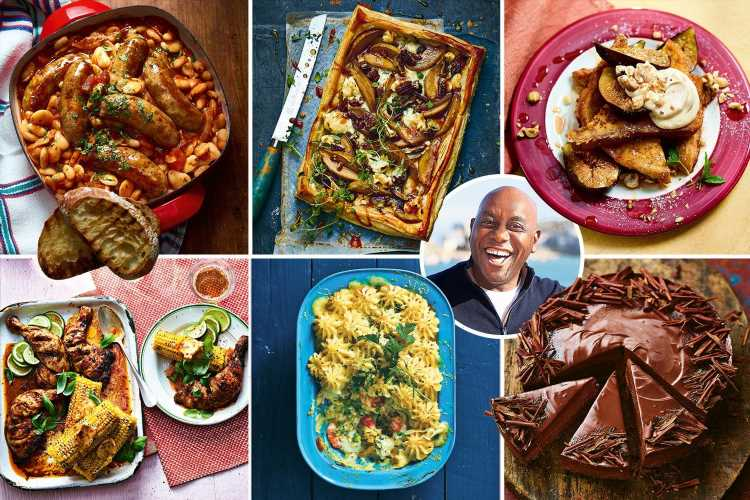 Ainsley Harriott tells you how to make easy meals to make you feel good for winter