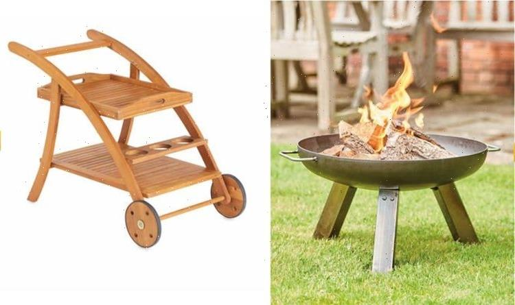 Aldi slashes 20 percent off fire pit and discounts on outdoor furniture