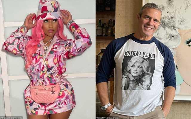 Andy Cohen Addresses Nicki Minaj's Alleged 'RHOP' Hosting Gig