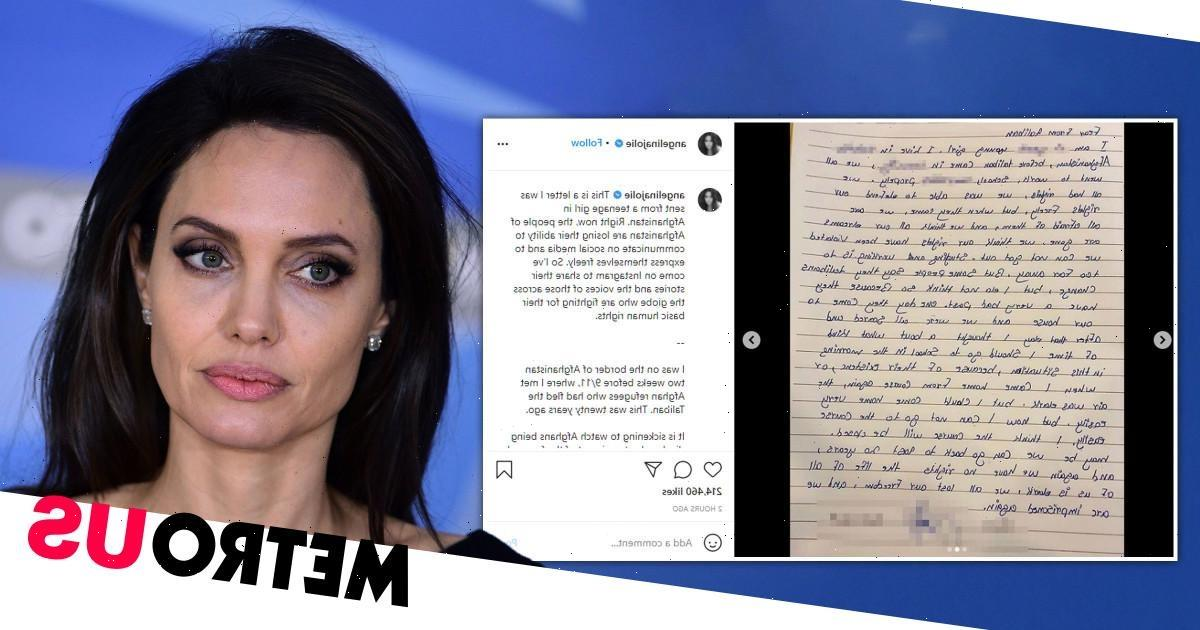 Angelina Jolie joins Instagram with powerful statement about Afghanistan