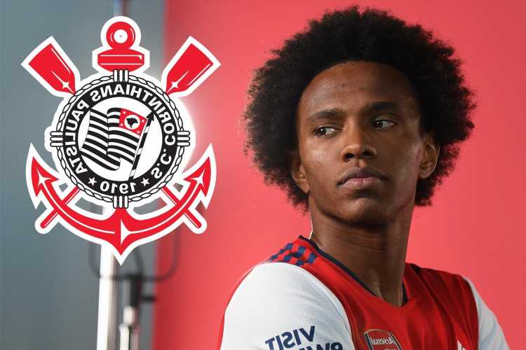 Arsenal flop Willian in talks with Brazilian giants Corinthians as 'they launch official transfer bid'