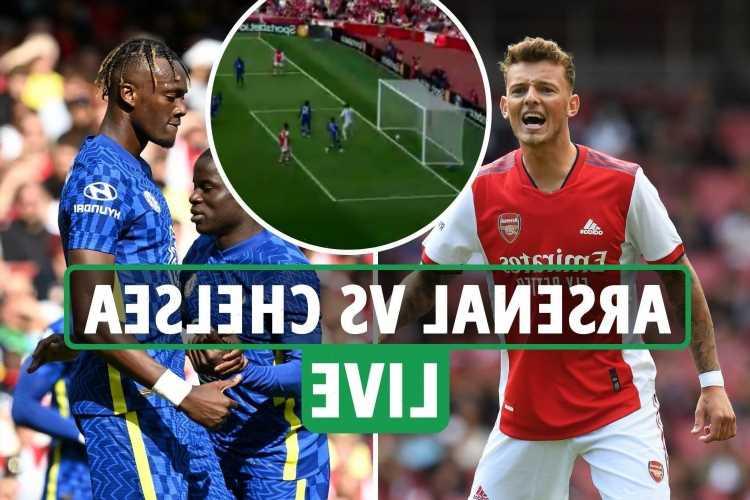 Arsenal vs Chelsea LIVE: Joe Willock DENIED goal with no VAR, Ben White makes debut – Stream, TV channel