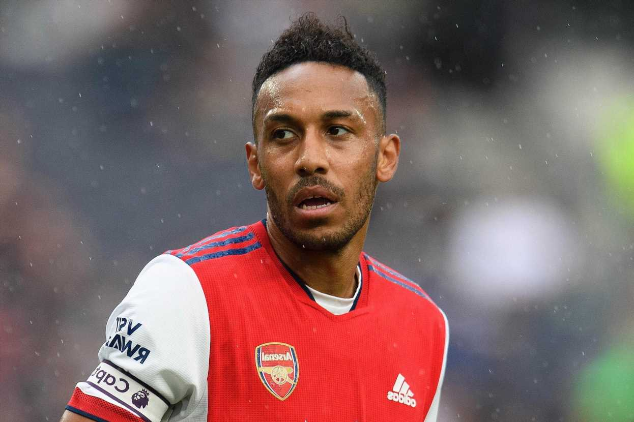 Arsenal 'willing to offload Aubameyang' just 12 months after tying captain down to new £350k-a-week deal