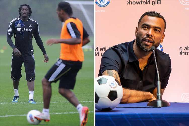 Ashley Cole reveals 'quiet' Romelu Lukaku shadowed Didier Drogba in Chelsea training before becoming 'ruthless' striker