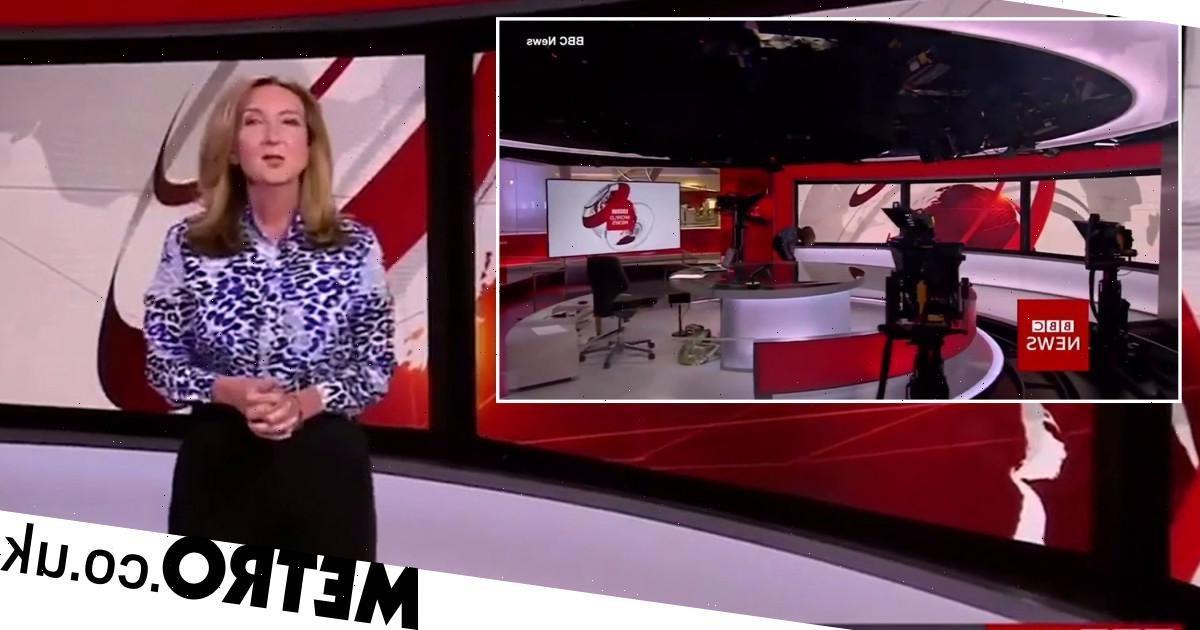 BBC's Victoria Derbyshire caught in awkward on-air blunder due to heels mishap