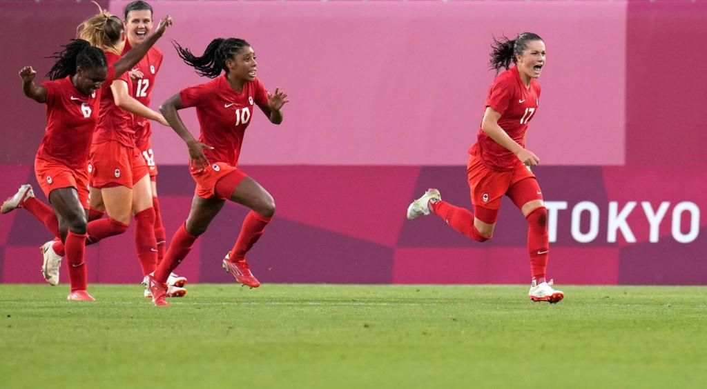 Canada upsets U.S. with 1-0 win in women's soccer – The Denver Post
