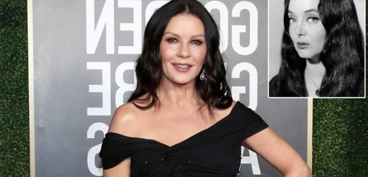 Catherine Zeta-Jones cast as Morticia in Wednesday Addams Netflix series