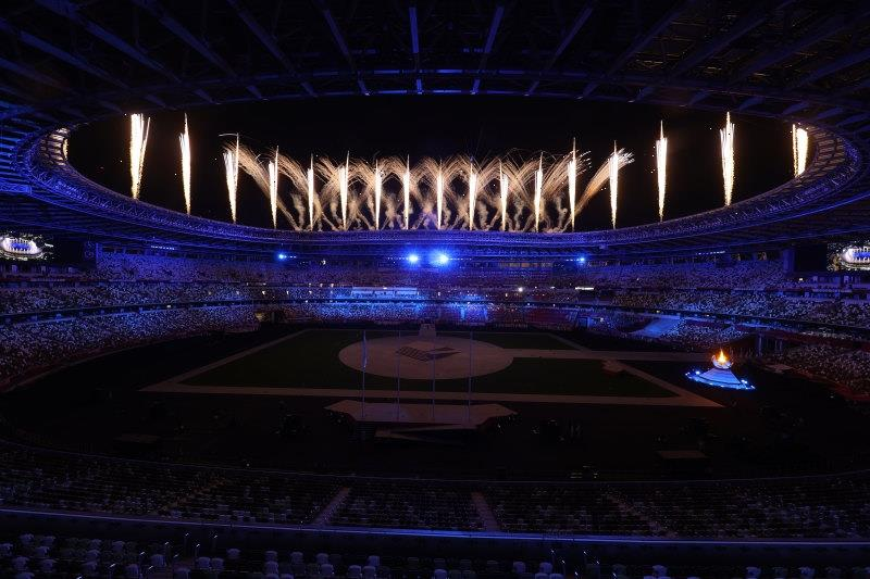 Celebration and hope: The Olympics closing ceremony in images
