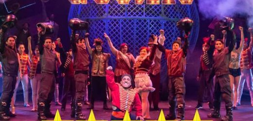 Circus has roared back into the West End with a 21st century twist for Cirque Berserk