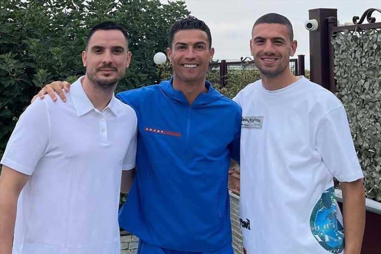 Cristiano Ronaldo visits Merih Demiral's house to say goodbye to Juventus pal ahead of Atalanta transfer