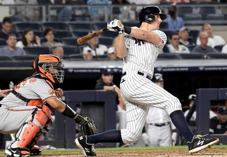 DJ Lemahieu has big night as Yankees smack Orioles again