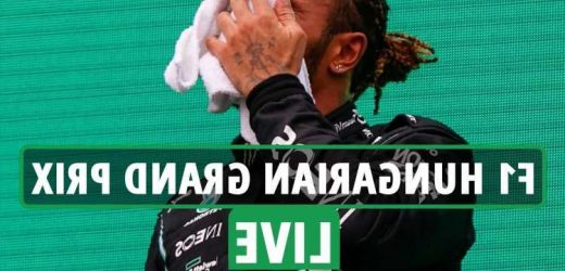 F1 Hungarian Grand Prix LIVE RESULTS: Lewis Hamilton reveals he is suffering long Covid after  'fatigue & dizziness'