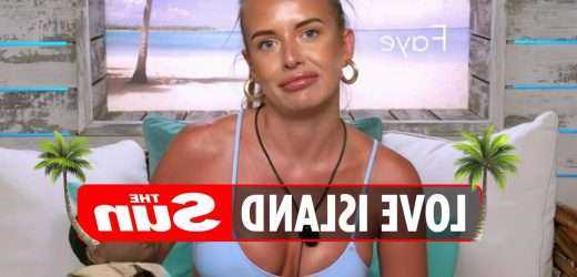 Fed-up Love Island fans accuse Faye of FAKING her hate for babies and 'playing up to the cameras' in hilarious challenge