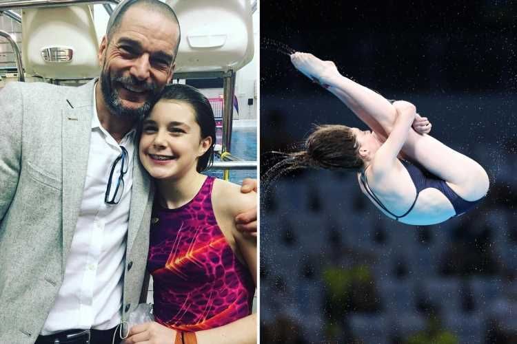 First Dates' Fred Sirieix pays touching tribute to Olympian daughter after she placed seventh in diving