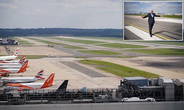 Gatwick unveils plans to turn emergency runway into second runway