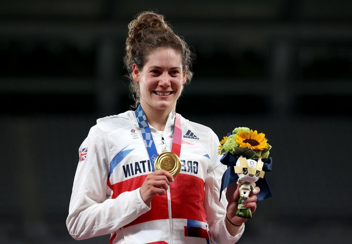 Great Britain's Kate French wins gold in modern pentathlon