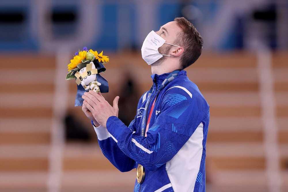 Gymnast Artem Dolgopyat wins gold on big day for Israel at Olympics