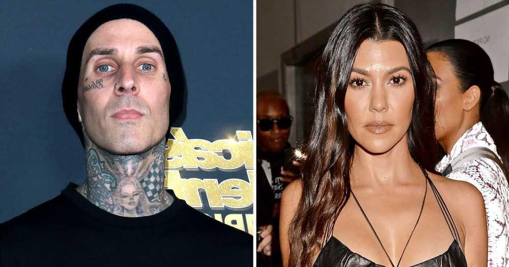 How Kourtney Kardashian Helped Travis Barker 'Overcome' His Fear of Flying