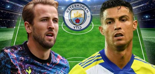 How Man City could line-up with Cristiano Ronaldo and Harry Kane with Juventus superstar 'offered to Pep Guardiola'