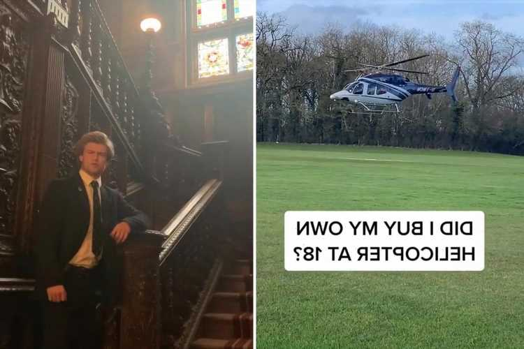 I'm so posh that Daddy bought me a helicopter at 18 – and I go on holiday all the time too