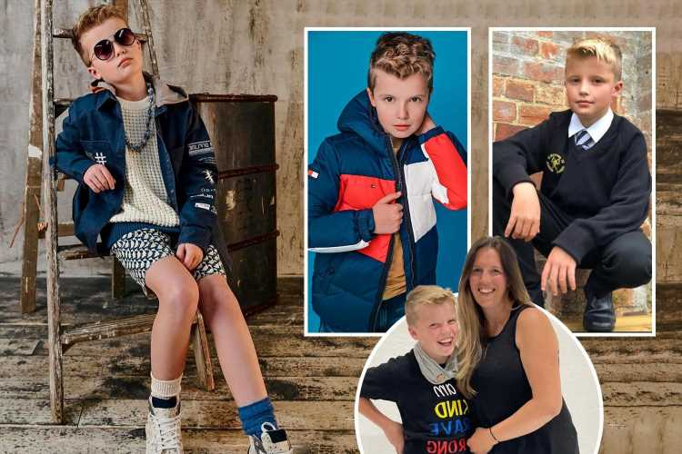 I've spent £2k on back-to-school clothes for my son, 10 – he'll only wear designer labels and even has £40 socks