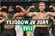 Jake Paul vs Tyron Woodley LIVE RESULTS: UK start time, stream, TV channel for huge clash TONIGHT – updates