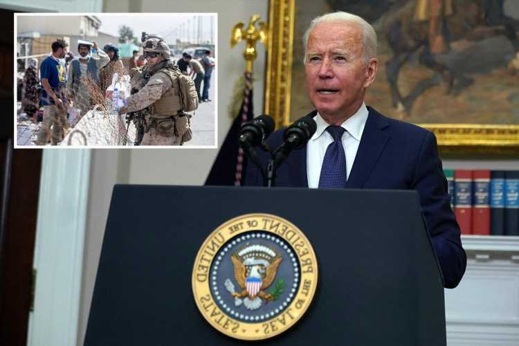 Joe Biden AGAIN defends catastrophic Afghanistan situation by calling troop withdrawal 'the right decision'