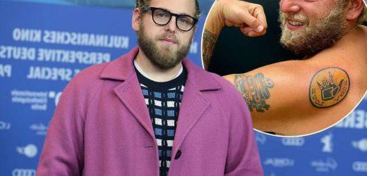 Jonah Hill's new tattoo celebrates body positivity