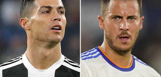Juventus 'to replace Cristiano Ronaldo with Real Madrid flops Hazard or Jovic' with Moise Kean returning