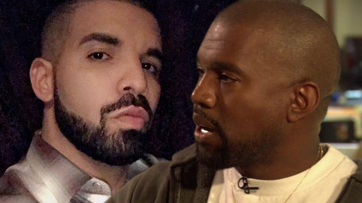 Kanye Posts Drake's Toronto Address as Beef Escalates, Drake Laughs it Off