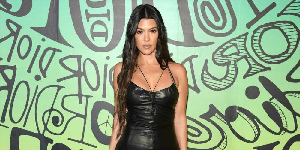 Kourtney Kardashian Got Cozy With Travis Barker in Silk Pajamas at Venice Film Festival