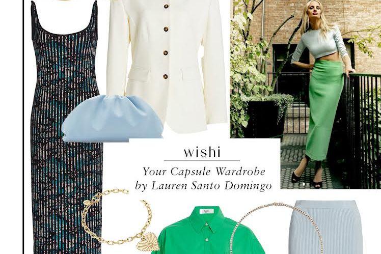 Lauren Santo Domingo Joining Wishi Online Styling Platform