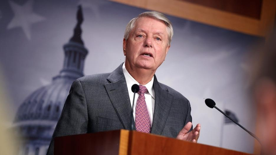 Lindsey Graham Tests Positive for COVID-19, Says He's 'Glad' He Was Vaccinated