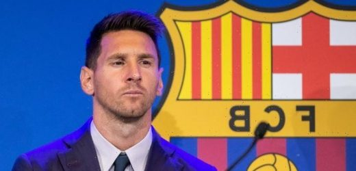 Lionel Messi set to 'complete PSG medical' only hours after teary Barcelona farewell as free transfer edges closer