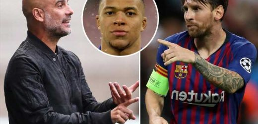 Man City 'first choice' for Lionel Messi with PSG transfer 'looking impossible' over £1.1m-a-week wages and Mbappe deal