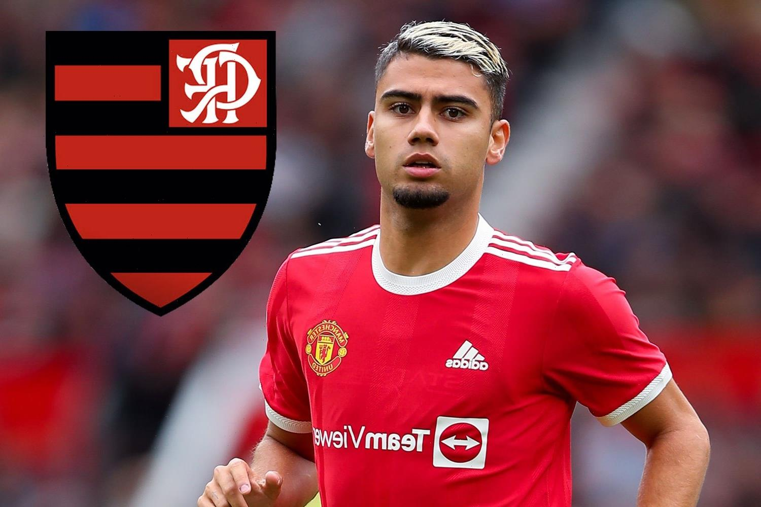 Man Utd outcast Andreas Periera flying to Brazil today to complete Flamengo loan transfer with £17m option to buy