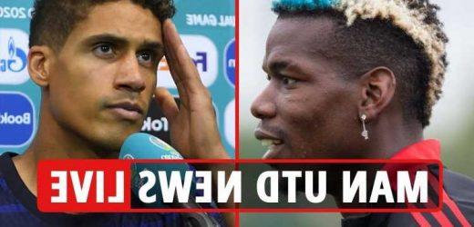 Man Utd transfer news LIVE: Varane 'delayed', Pogba could 'leave on free', Jovic bid considered, Sancho vs Leeds