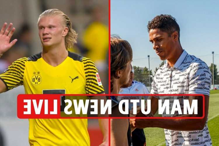 Man Utd transfer news LIVE: Varane flies for medical TODAY, Haaland boost, Kane monitored, Pogba and Saul Niguez LATEST