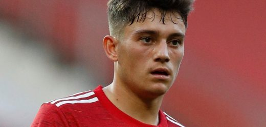 Man Utd's Dan James will fly to Finland and join Wales squad once he seals £30m Leeds transfer