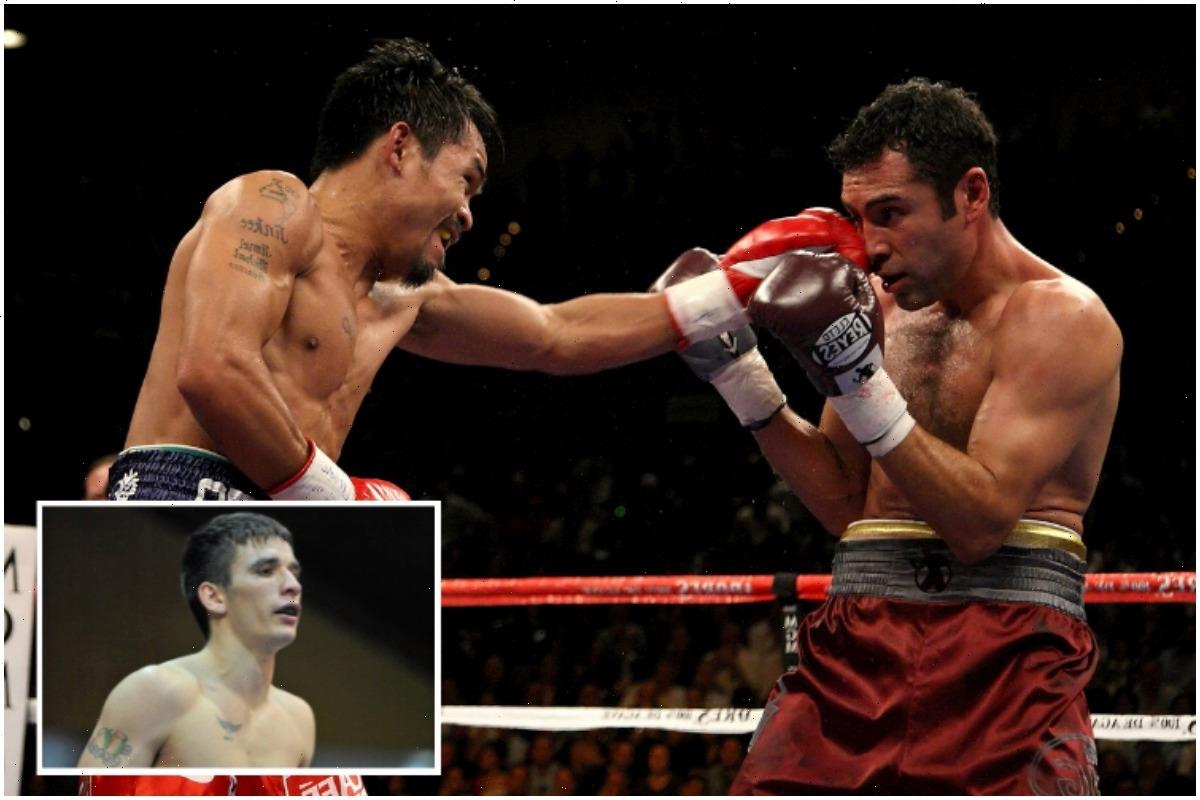 Manny Pacquiao's punches are like 'a machine gun' according to former sparring partner Dean Byrne
